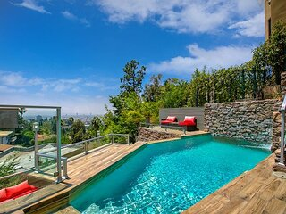 Hollywood Hills Paradise w/ 2 Recording Studios, Infinity Pool & Home Theater