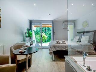 Wellholidays 19 - appartement balnéo et terrasse piscine