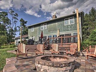 Modern Hiwassee Home w/ Mtn & Lake Views!