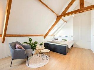 ★ Brand new stylish penthouse w A/C near centre ★