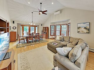Lovely Cape Cod Retreat with Private Pond Access & Large Deck