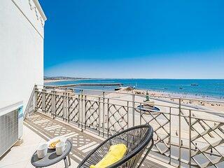 Apartment | High-Speed Internet | A/C | 50m From Beach | Sea View [RLAG99]