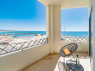 Apartment | High-Speed Internet | A/C | 50m From Beach | Sea View [RLAG98]