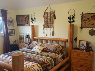 Native American Indian Private Rm Queen,Free: Bfast/Gym/Sauna*,20min2 slopes
