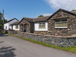 The Old Pump House - Detached 3-bedroom bungalow with Hot Tub near Millom