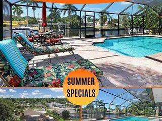 27% OFF! -SWFL Rentals - Villa Arianna - 4 BR Cape Coral Home w/Pool & Boat Lift