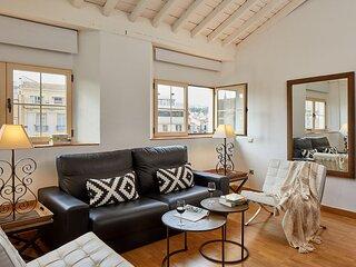 Penthouse apartment - Plaza de la Constitución - Lodgingmalaga