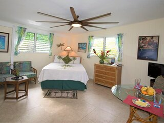 SUITE ALOHA – Remodeled, Romantic Island Retreat
