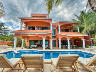 Hacienda Caracol - Luxurious 10 bedroom villa in Soliman Bay, Tulum