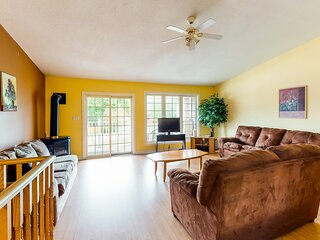 New listing! Expansive dog-friendly home w/ furnished balcony & full kitchen!