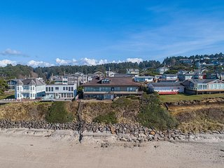 New listing! Stunning oceanfront home w/ private beach access!