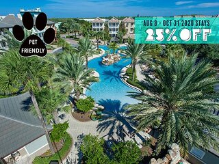 10% OFF 8/1-8/8! Pool/Hotub, Near Beach +FREE VIP Perks, $200 LiveWellCredit!