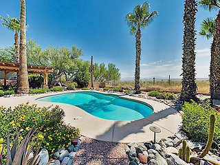 Mountain-View Home in Fountain Hills - Backyard Oasis w/ Pool, Firepit, Grill