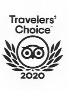 winner of Travellers Choice award 2020