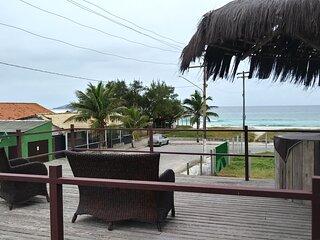 Apartamento na praia do Foguete