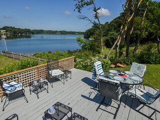 #916: Waterfront fun awaits at this updated antique home! Dog friendly!