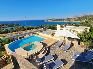 Villa Azure Sea by Voulisma beach
