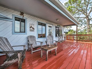 Dog-Friendly, Waterfront Duplex w/Dock, Near Town!