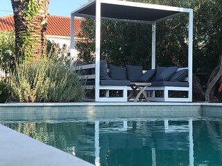 Ferienhaus Villa Koroni, privater Pool, 3 Min. Vom Strand!