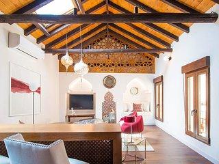 Casa individual de estilo mudejar en el casco antiguo de Toledo