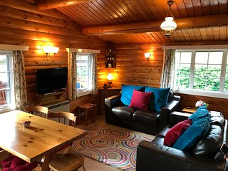 Relaxing Snowdonia lodge - cabin 302 (family/pet friendly, WiFi) Trawsfynydd