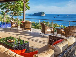 Ask about Discounts for Sept - Nov 2020 | BEST OCEAN VIEWS in Manuel Antonio