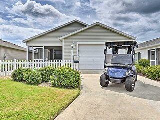 NEW! Modern Central Villages Cottage w/ Golf Cart!