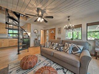 NEW! Peaceful Twain Harte Cabin w/Wraparound Deck!