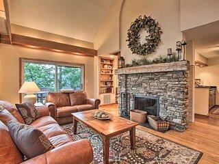 NEW! Wintergreen Resort Home w/ 2 Decks & Fire Pit