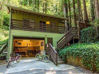 'Vino Velo'HotTub,Redwoods,Deck !