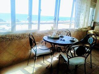 Luminoso y Amplio apartamento con vistas al mar en Guadalmar, Malaga-Playa