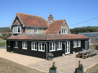 Greystone Cottage near beach at Brook Bay, Isle of Wight