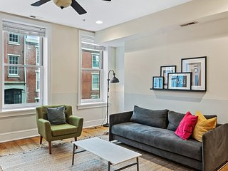 Spacious 1BR in Old City, 8min to Liberty Bell