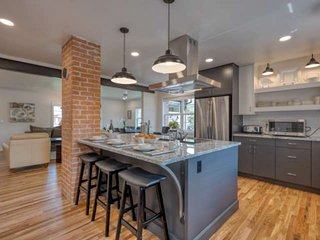 NEWLY REMODELED Modern LUX Home w/ Gourmet Kitchen, 2 Living Spaces, & More- Whi