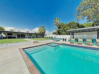 Posh Private Home: Amazing Backyard Pool & Spa + Epic Game Room!