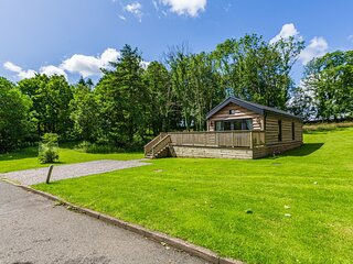 Squirrel Lodge 40 with Hot Tub, Newton Stewart