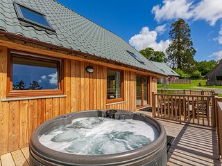 Lord Galloway 38 with Hot Tub, Newton Stewart