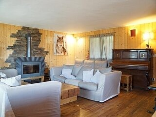 Chalet grand standing 14 personnes, proche telecabine, a Pra Loup