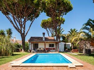 Casa Tatooine, Chalet, jardin y psicina privada, WiFi, su paraiso en Chiclana
