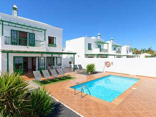 Villa Nohara 4, Piscina WiFi Sol Playa Blanca