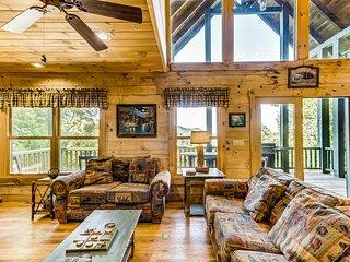 New listing! Dog-friendly getaway w/ a full kitchen, game room, & multiple decks