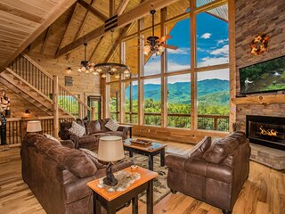 Cloud Dancer Cabin - Hot Tub Theater Arcade Best Mtn View In the Smokies Private