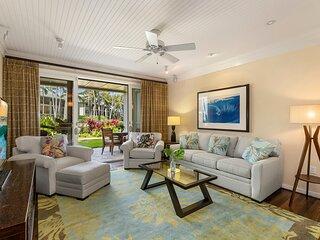 Luxury Ocean Villa steps from a charming Sandy Bay! Turtle Bay Villas 114