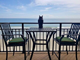Budget Friendly Couples Get-Away, 4th Floor Direct OceanFront w/ Private Balcony