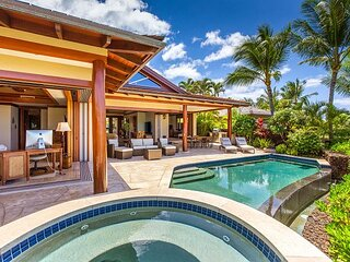 Hualalai 72-143 Pakui~ exclusive custom residence~pool~premier location