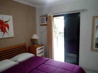 Apartamento 3 dorms - Ensea - Gurujá - 10 pessoas