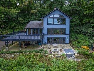 Blue Ridge Bliss | Gorgeous home with hot tub & stunning mountain views!