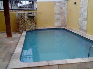 Casa com Piscina em Itanhaém - SP