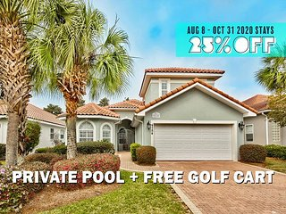 FREE Golf Cart & VIP Perks, Private Pool, $200 LiveWellCredit, Communal Hotub