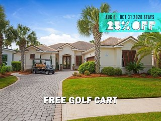 FREE Golf Cart & VIP Perks, $200 Live Well Credit! Pool~Hotub~Gym (Communal)!